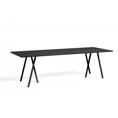 Loop stand tafel 250 hay - black