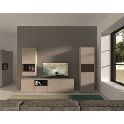 Tv-kast op pootjes melamine ossidato/tortora f2f13242