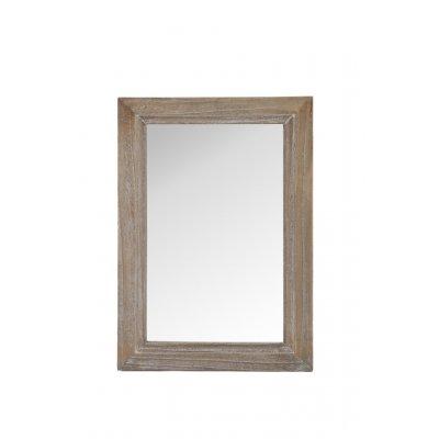 Spiegel hout - white wash 40x60cm