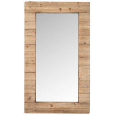 Spiegel rechthoekig hout 70x120cm
