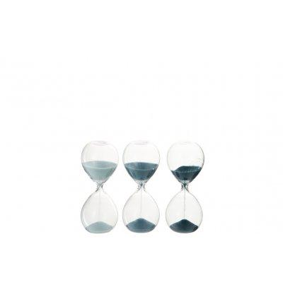 Zandloper blauw xs