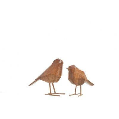 Vogel houtlook