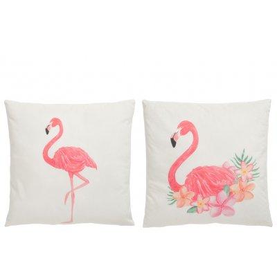 Kussen flamingo
