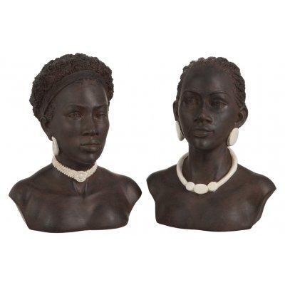 Buste afrikaanse vrouw