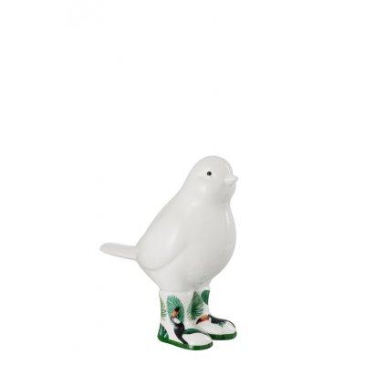 Vogel tropical keramiek smal