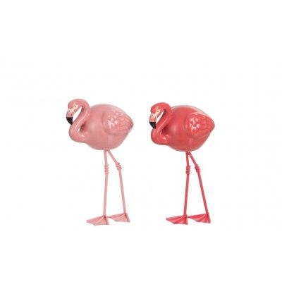 Flamingo keramiek smal