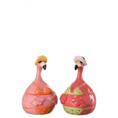 Voorraadpot flamingo ker mix