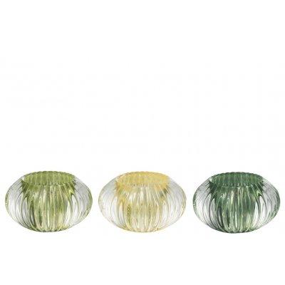 T-lh glas groen mix