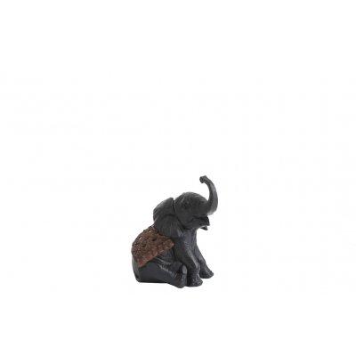 Decoratie figuut zittende olifant