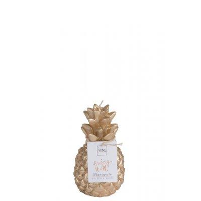 Kaars gouden ananas s