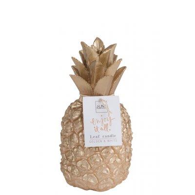 Kaars gouden ananas l
