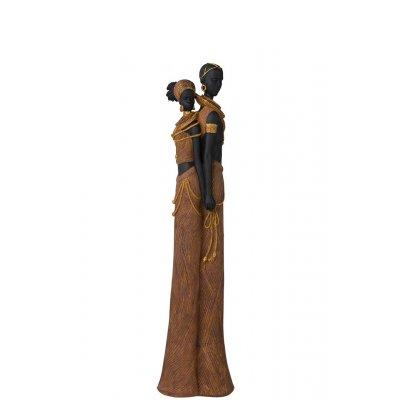 Afrikaans koppel rug pol bruin