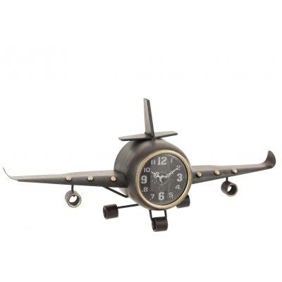 Vliegtuig met klok