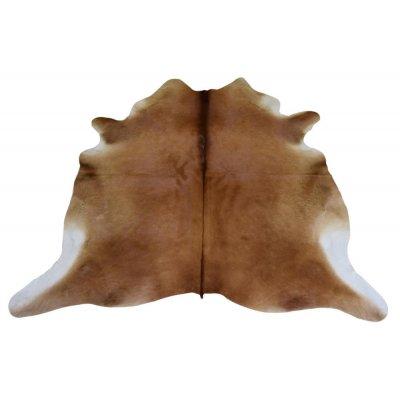 Koeienvel leer bruin (214x240cm) j-line 18695