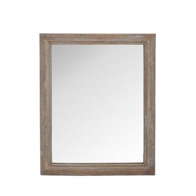 Spiegel hout - white wash 60x80cm