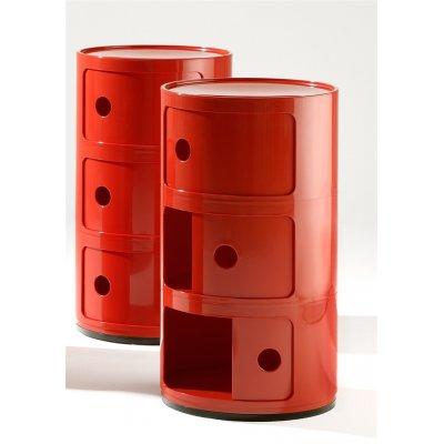 Bijzetmeubel componibili rood