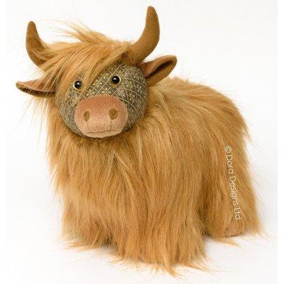 Deurstop koe highland