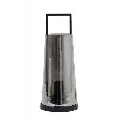 Amando tafellamp gl sm grijs mat zwart