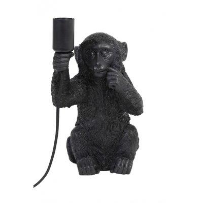 Monkey tafellamp zwart 24,5x22,41,5
