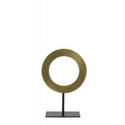 Waiwo ornament voet ruw ant brons mat zwa 25x38