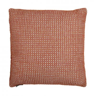 Waffle pillow red 50x50 127069 -c-