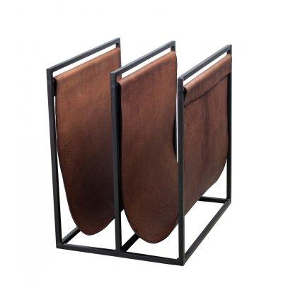 Magazine houder bruin