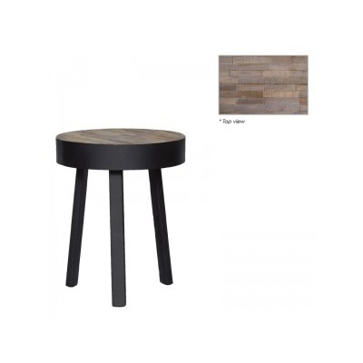 Michael round coffee table 40x40x49 127347