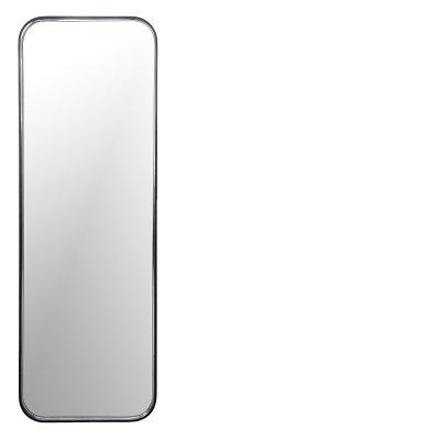 Black full lenght mirror 180x60 131038