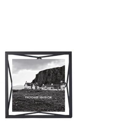 Nutri photoframe black 10x10 cm