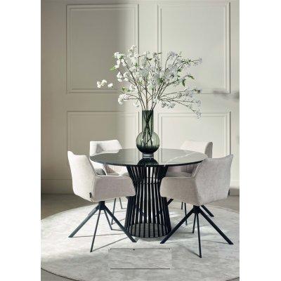 Henderson clinton table marble black