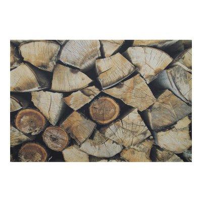 Binnenmat open haard hout