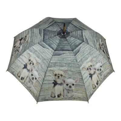 Paraplu hout chihuahuas