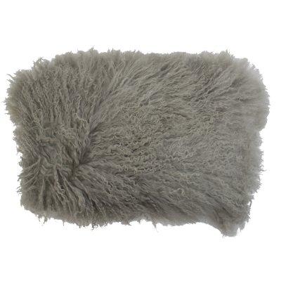 Kussen lam grijs (35x50)