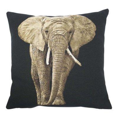 Gobelin kussen olifant 45x45