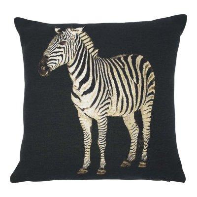 Gobelin kussen zebra 45x45