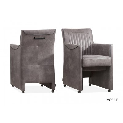Mobile stoel armleuning stof