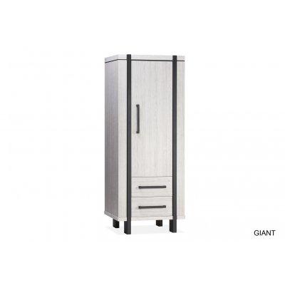 Giant broodkast 1 deur/2 laden lamulux