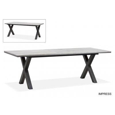 Impress tafel uitschuif 200(240)x100 cm lamulux