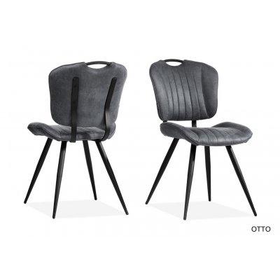 Otto stoel (softyl antraciet)
