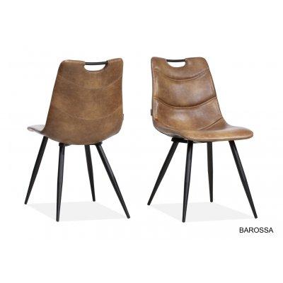 Barossa stoel 1 zits pu-skin