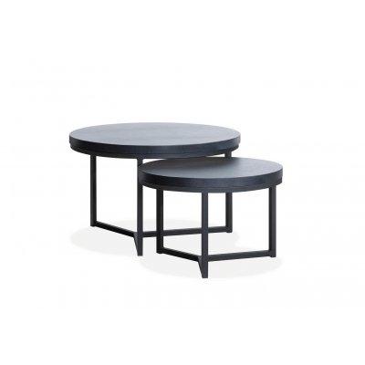 Set van 2 salontafels, 1 x groot, 1 x midden