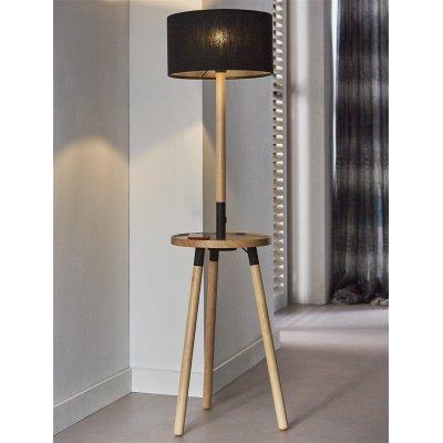 Vloerlamp 1l aparato wood