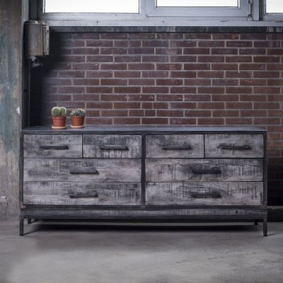 Dressoir ruff metal