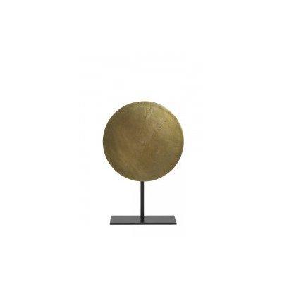 Gasim ornament on base 30x45 cm bronze mat black