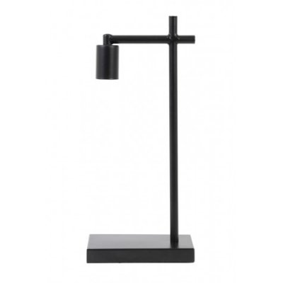 Corby tafellamp mat zwart