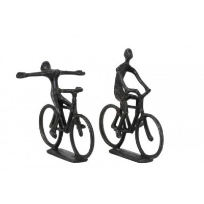 Cyclists ornament s2 ant black pearl