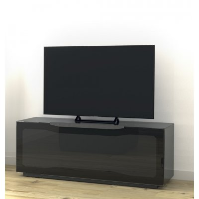 Tv-meubel met klep en 4 vakken