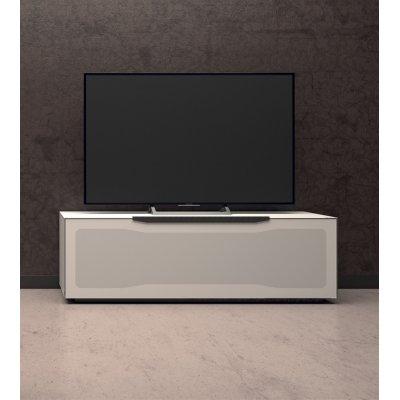 Tv-meubel met klep en 6 vakken