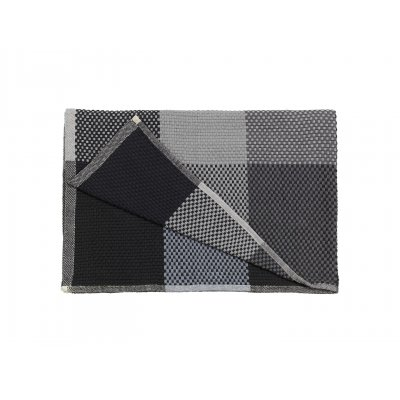 Plaid muuto - loom 130x180cm black