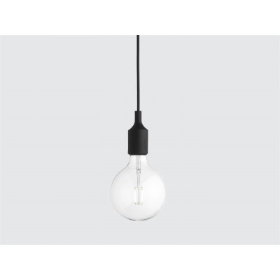 E27 - hanglamp zwart